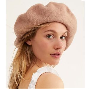 Free People Margot oversized slouchy beret